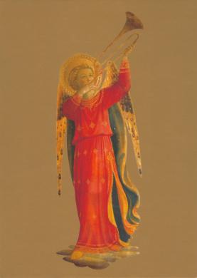 Musizierender Engel, 1433 (Trompete)