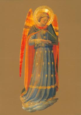 Musizierender Engel, 1433 (Orgelpfeifen)